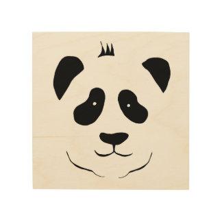 Panda bear for the children's room wood wall art