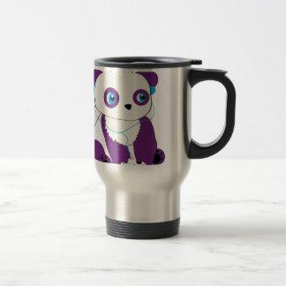 Panda Bear Gamer Travel Mug