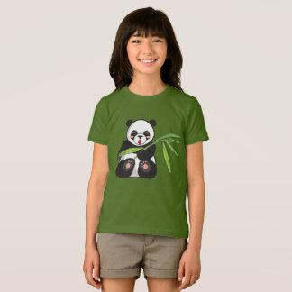 Panda Bear Girls' American Apparel Jersey T-Shirt