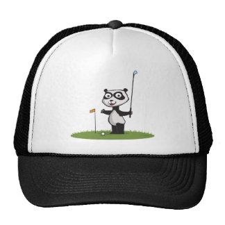 Panda Bear Golf Cap