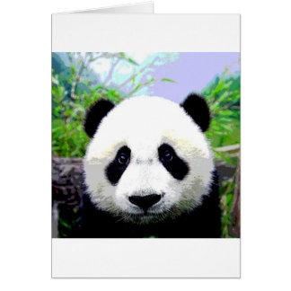 Panda Bear Greeting Card