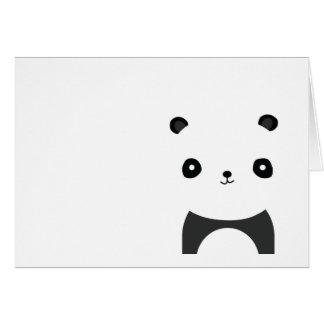 Panda Bear Hugs Card