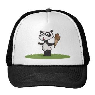 Panda Bear Ice Cream Hat