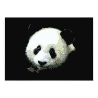 Panda Bear Invitation