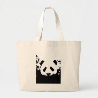 Panda Bear Jumbo Tote Bag