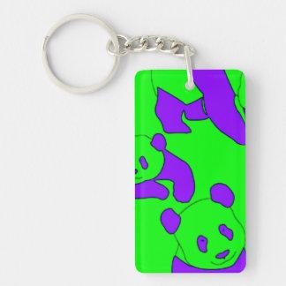 panda bear key chain
