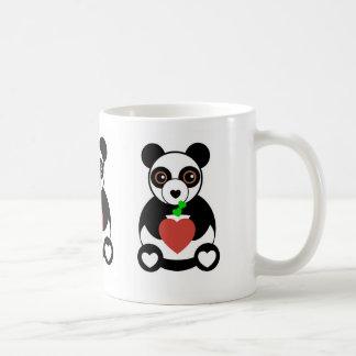 Panda Bear Love Basic White Mug