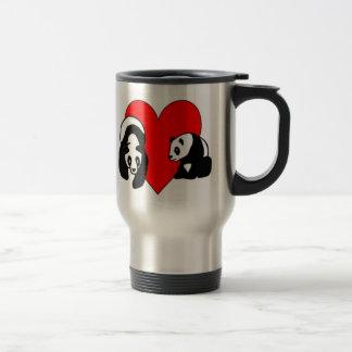 Panda Bear Love Travel Mug