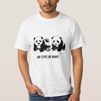Panda Bear Mens Value T-Shirt