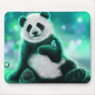 Panda Bear Mouse Mat