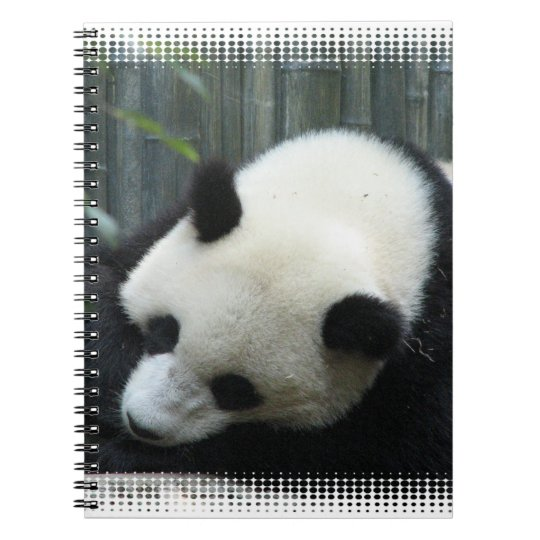 Panda Bear Notebook