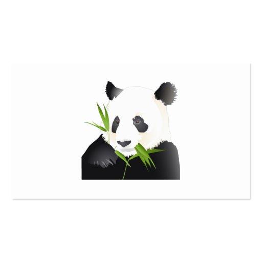 Panda Bear Pack Of Standard Business Cards