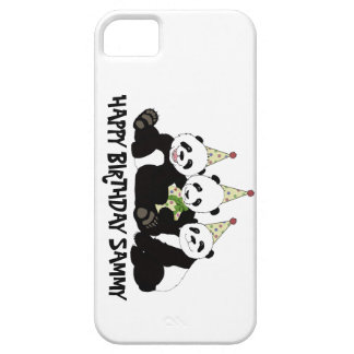 Panda Bear Party by Kindred Design iPhone 5 Case