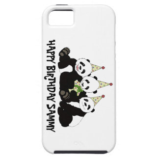 Panda Bear Party by Kindred Design iPhone 5 Cases