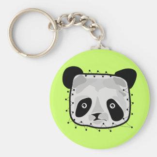 PANDA BEAR PATCHWORK KEY CHAINS