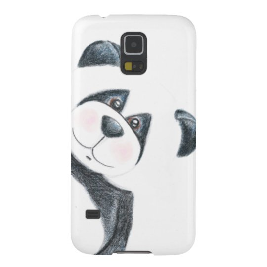 Panda Bear Pencil Art Galaxy S5 Case