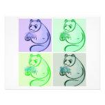 Panda Bear Pop Art Invitation