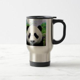 Panda Bear Stainless Steel Travel Mug
