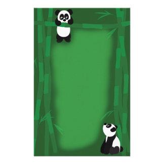 Panda Bear Stationary Stationery