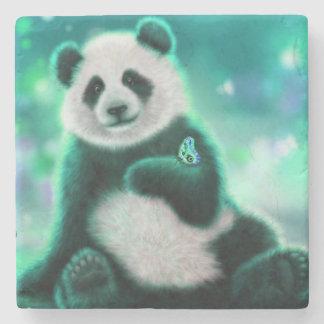 Panda Bear Stone Coaster