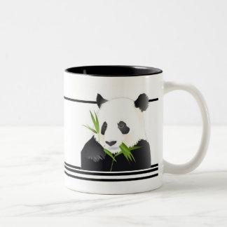Panda Bear Two-Tone Mug