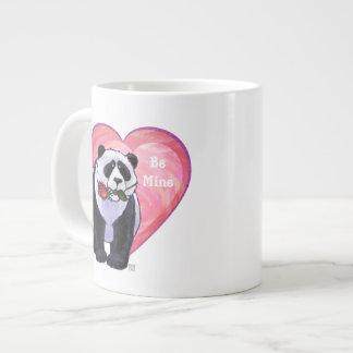 Panda Bear Valentine's Day 20 Oz Large Ceramic Coffee Mug