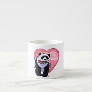 Panda Bear Valentine's Day 6 Oz Ceramic Espresso Cup