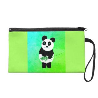 Panda Bear Wristlet Bag/Purse
