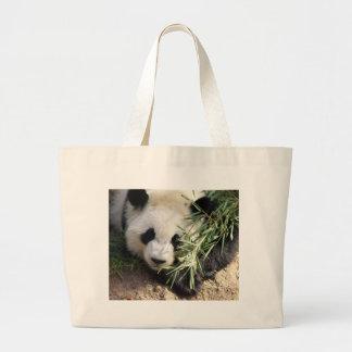 Panda Bear @ Zoo Atlanta Canvas Bags