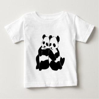 Panda Bears Baby T-Shirt