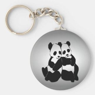 Panda Bears Keychains