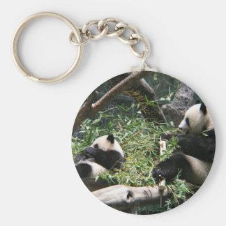 Panda Bears Keychain