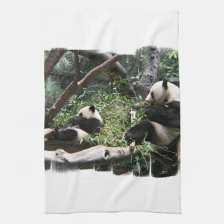 Panda Bears Kitchen Towel