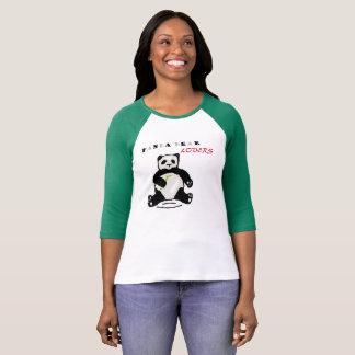 panda bears Lovers T-shirts
