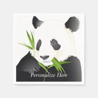 Panda Bears Disposable Napkins
