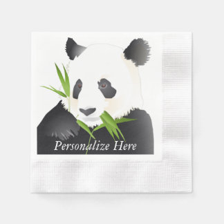 Panda Bears Paper Serviettes