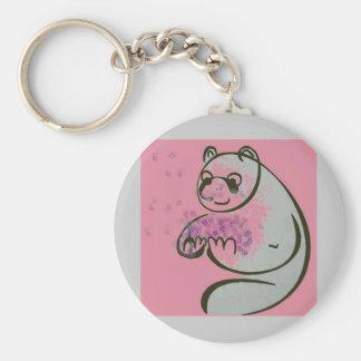 Panda Bears Pop Art Key Chains