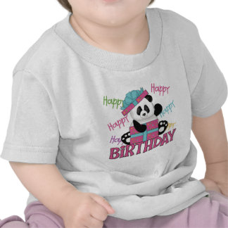 Panda Birthday T Shirts