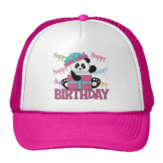 Panda Birthday Trucker Hats