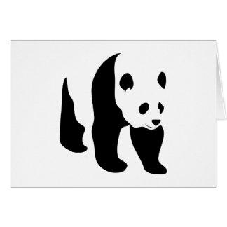 Panda Blank Note Card