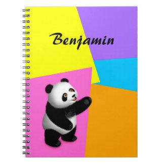 Panda Bon Bon Notebook
