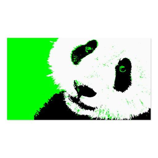 Panda Card Template Panda. business card template