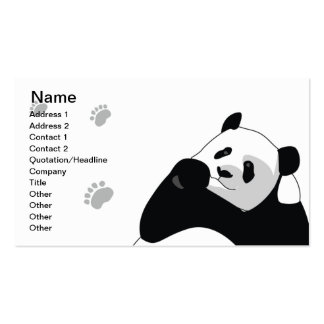 Panda - Business Pack Of Standard Business Cards