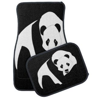 Panda Car Mat