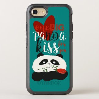 Panda Cartoon Cute Romantic Love Heart Girly Sweet OtterBox Symmetry iPhone 8/7 Case