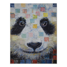 Panda Checkers Personalized Invitation