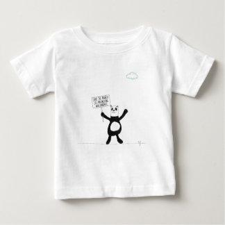 Panda Chocolate Baby T-Shirt