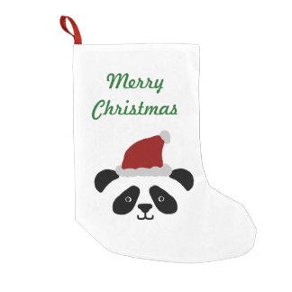 Panda Christmas Stocking