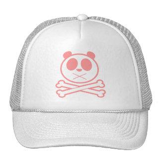 Panda Cross Bone - Pink Mesh Hat