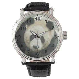 """Panda"" design wrist watch"
